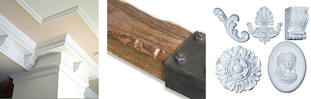 Декор пенополиуретаном